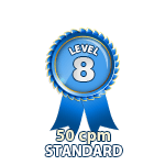 Standard 50cpm - Level 8