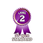 Standard 55cpm - Level 2