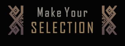 Make your selection