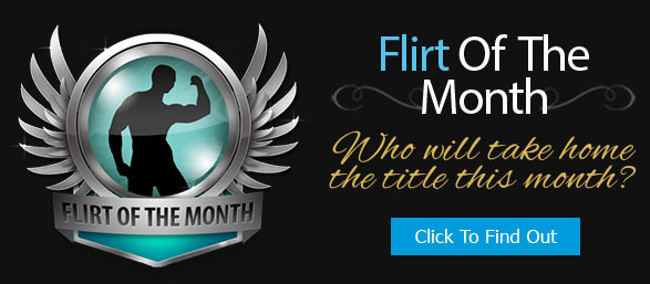flirt of the month bio badge