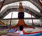 Inverted Iron cross... My favorite skill on rings