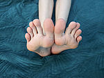 My feet for you