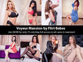 Welcome to the Live Cams Mansion, home of the most beautiful cam models in the world! Ever wonder what the girls do when they're not on cam?For only 75 credits a day, you can unlock our 24x7 LIVE spy cam feeds and take a peek into their everyday lives in the mansion! Come see what naughty fun goes on behind the scenes! Catch the girls in their most candid moments in the bedrooms, by the pool, and even in the shower.