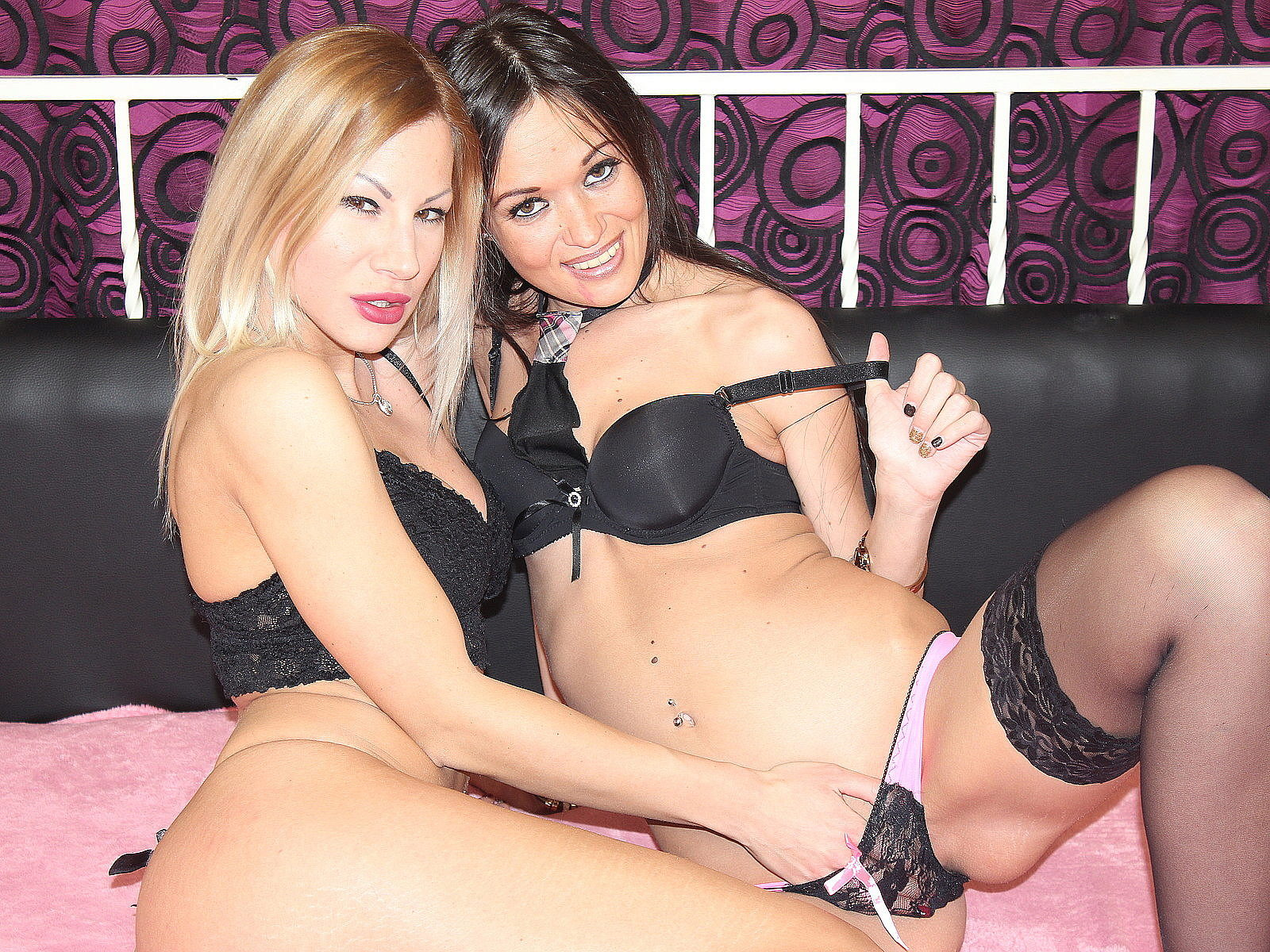 Barbi Black & Ziva Fuego