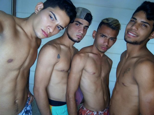 Andrew And Fabian And Gabriel And Eduard