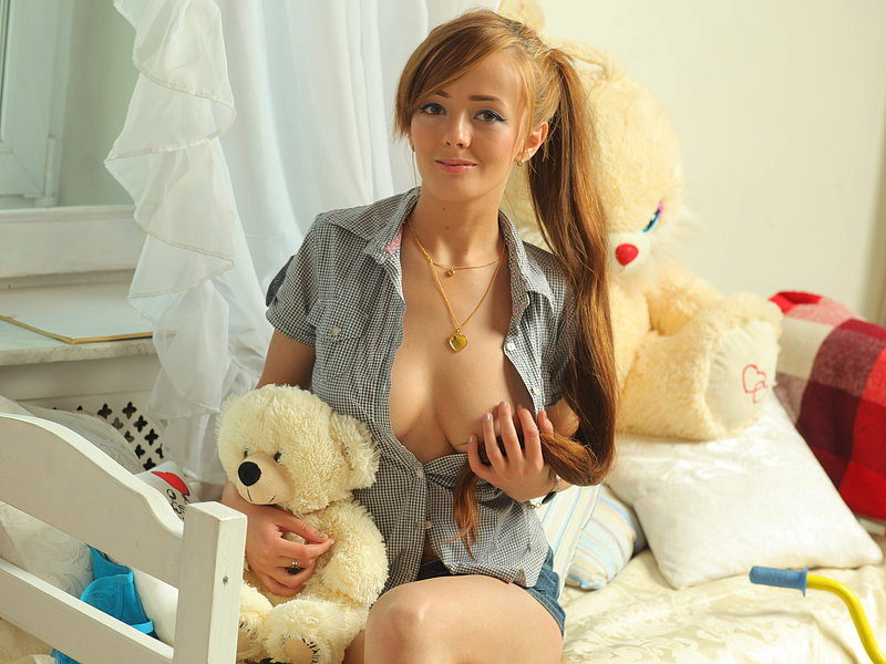 Webcam model Meganie from WebPowerCam (Flirt4Free)