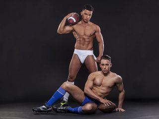 Sexy Photo of Amadeo Fernandez & Alessio Cabbalero