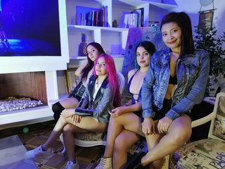 Gabi & Venus & Liz & Maddie