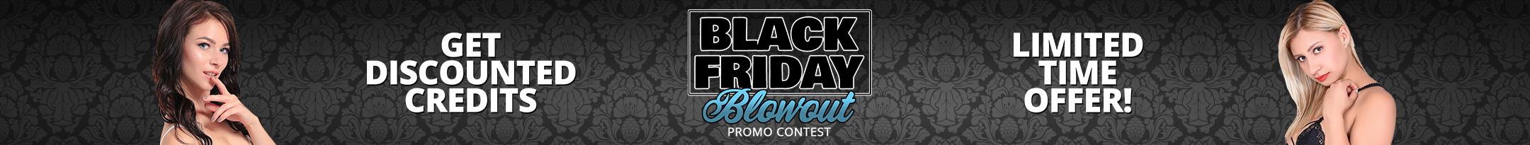Black Friday BLOWOUT Promo