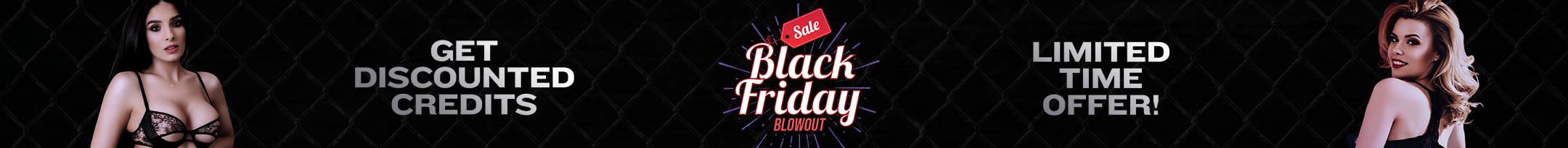 Black Friday Weekend Promo Contest Day 1 Promo