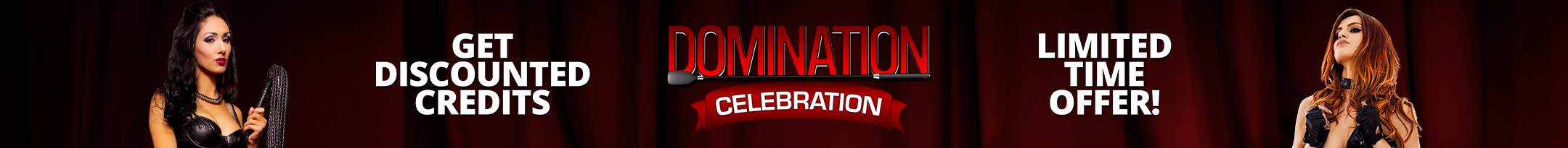 Domination Celebration Discount Promo