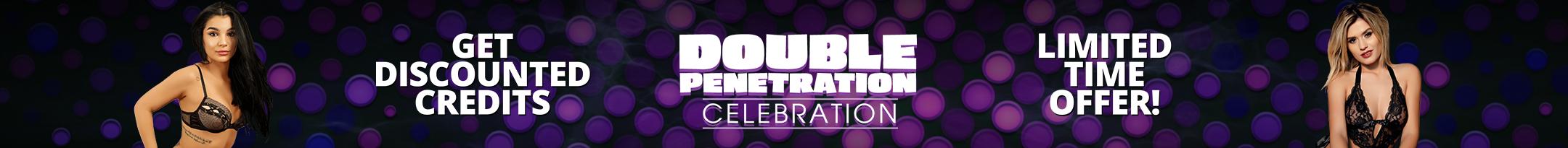 Double Penetration Celebration Promo