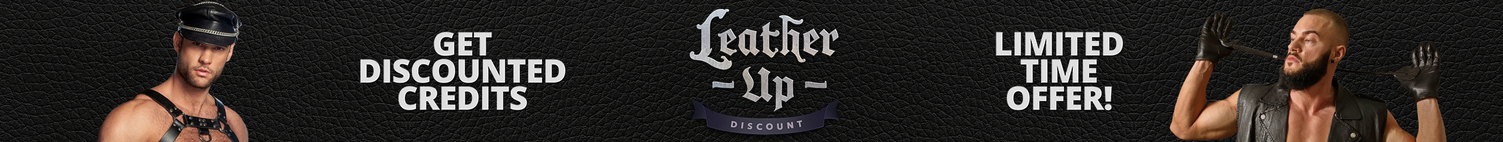 Leather Up Discount Promo