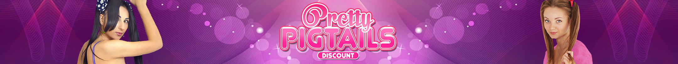 Pretty Pigtails Discount Promo