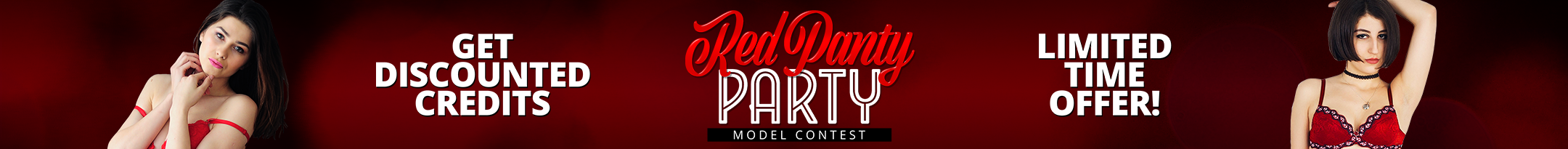 Red Panty Party Discount Promo