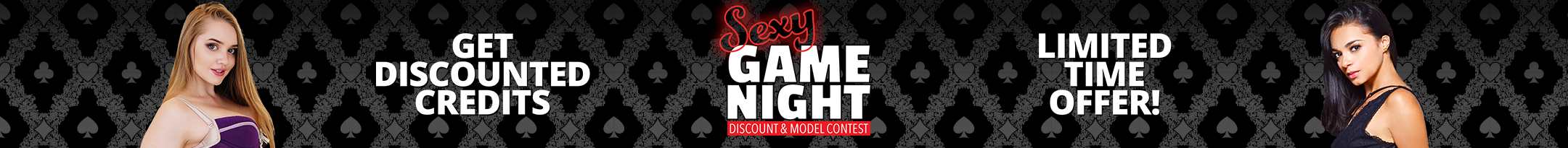 Sexy Game Night Discount Promo