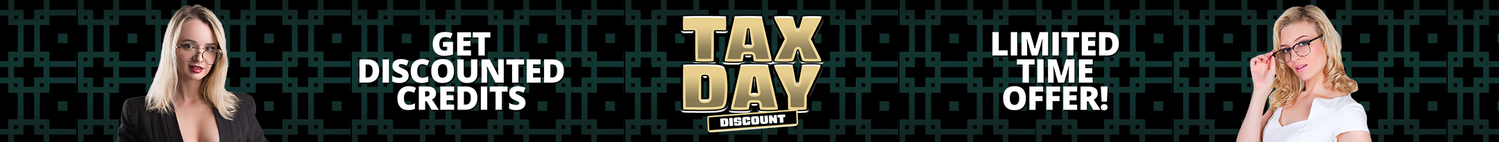 Tax Day Discount Promo