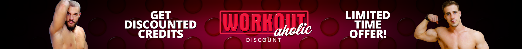 Workout-aholic Discount Promo