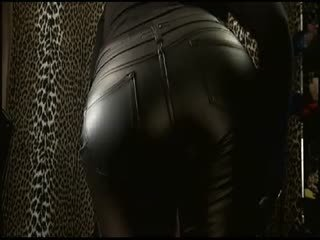Leather Ass Worship
