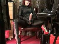 Leather Goddess Strapon Domination