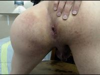 Alejandra Pounds Her Ass with a Nice Dildo