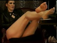 Pantyhose Feet, Dangling, Bare Feet