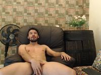 Sexy Model Cums and Eats His Load