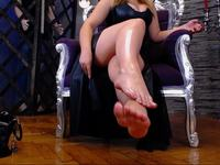 Sensual Foot Teasing with Miss Yves