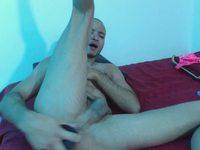 Anal Webcam Show: Look How Dildo Gets in the Ass. Buttom, Dildo, Jock Straps