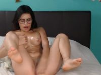 Dance.. Striptease, cream in body and Sexy PLAY dildo - Part 2