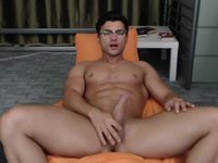 College Party Guy in Live Webcam Show